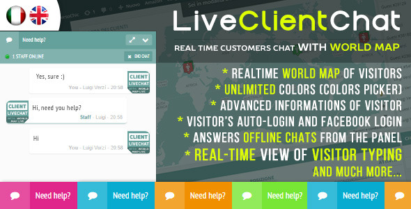 Download Live Client Chat Help Chat With Visitors Map