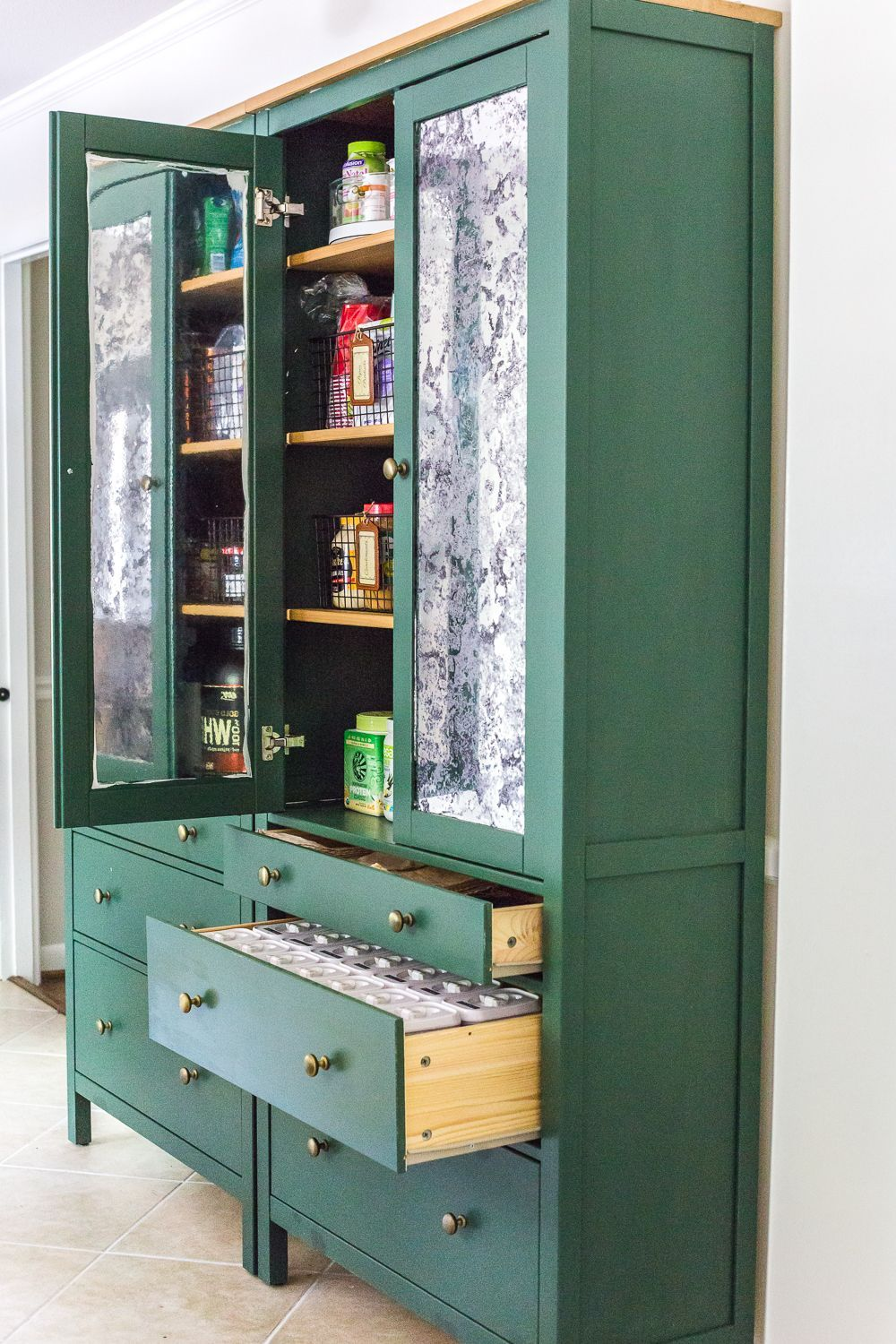 20 clever ways to maximize your pantry space ikea hemnes