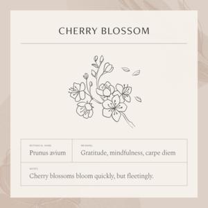 Cherry Blossom Necklace Gldn Cherry Blossom Necklace Flower Drawing Cherry Blossom Tattoo