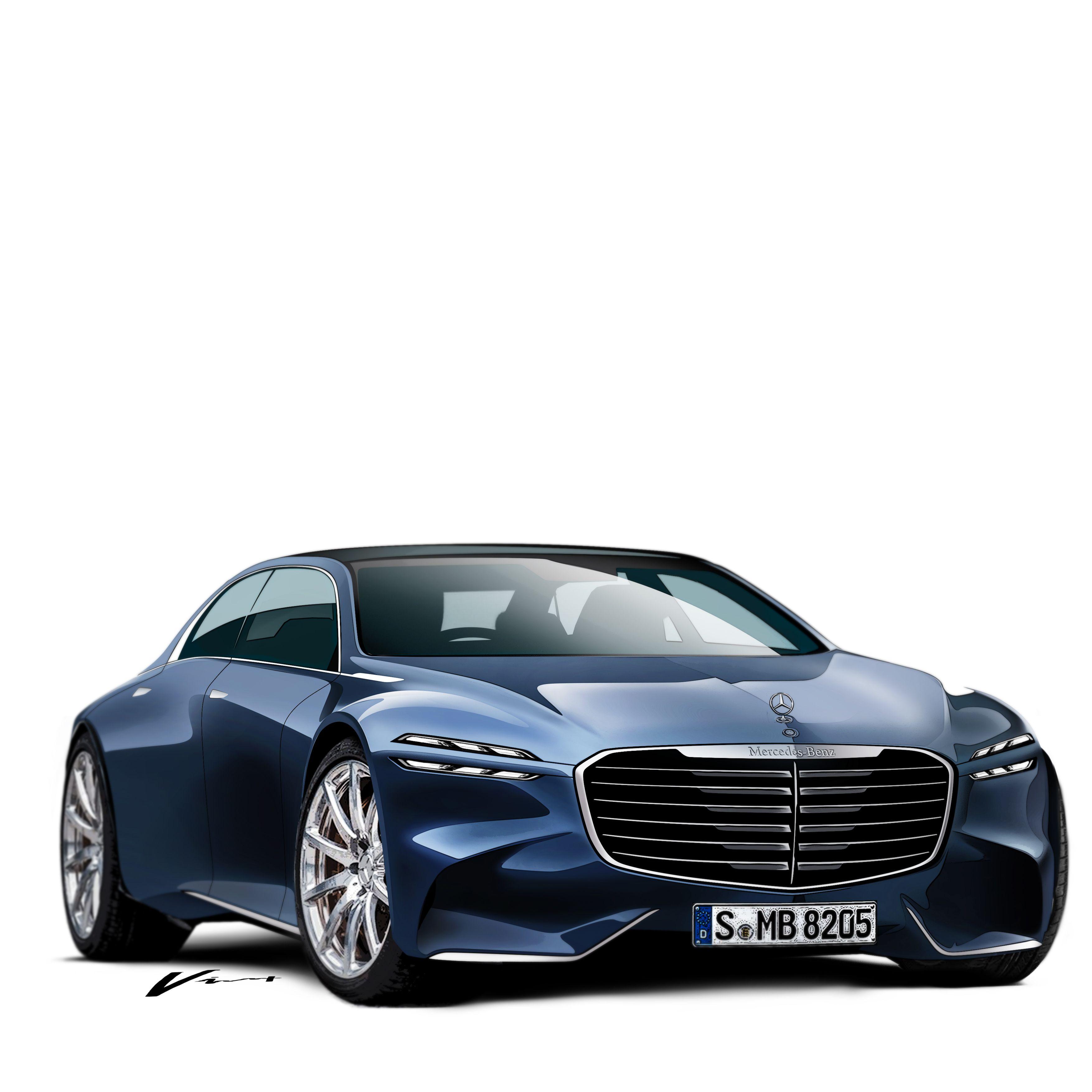 Mercedes Benz Luxury Sedan My Work Pinterest Cars Concept