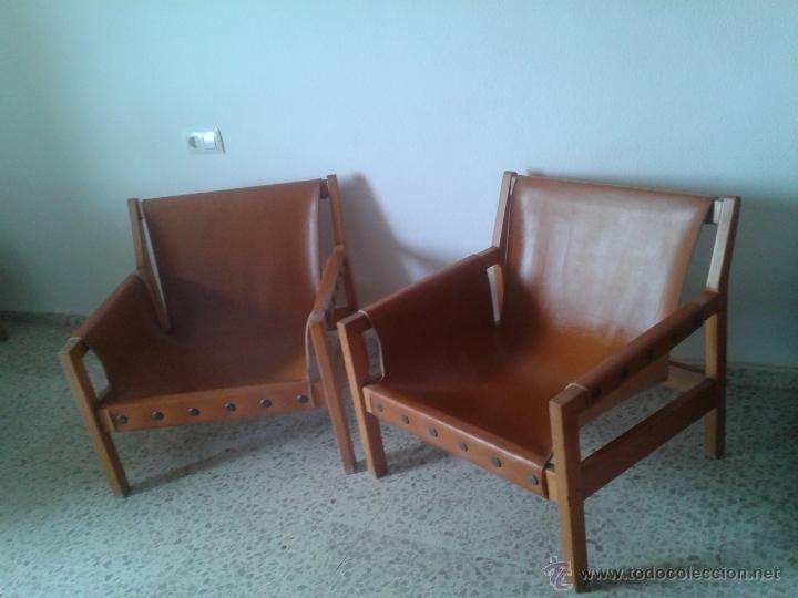 sillones butacas de diseo nordico retro vintange aos 60 70 madera y - Butacas De Diseo