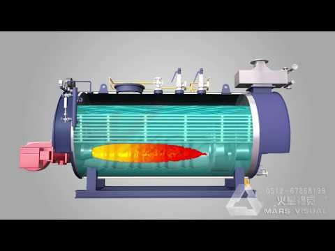 Boiler Working Animation Steam Boilers, Waste Heat Boilers, Thermal ...