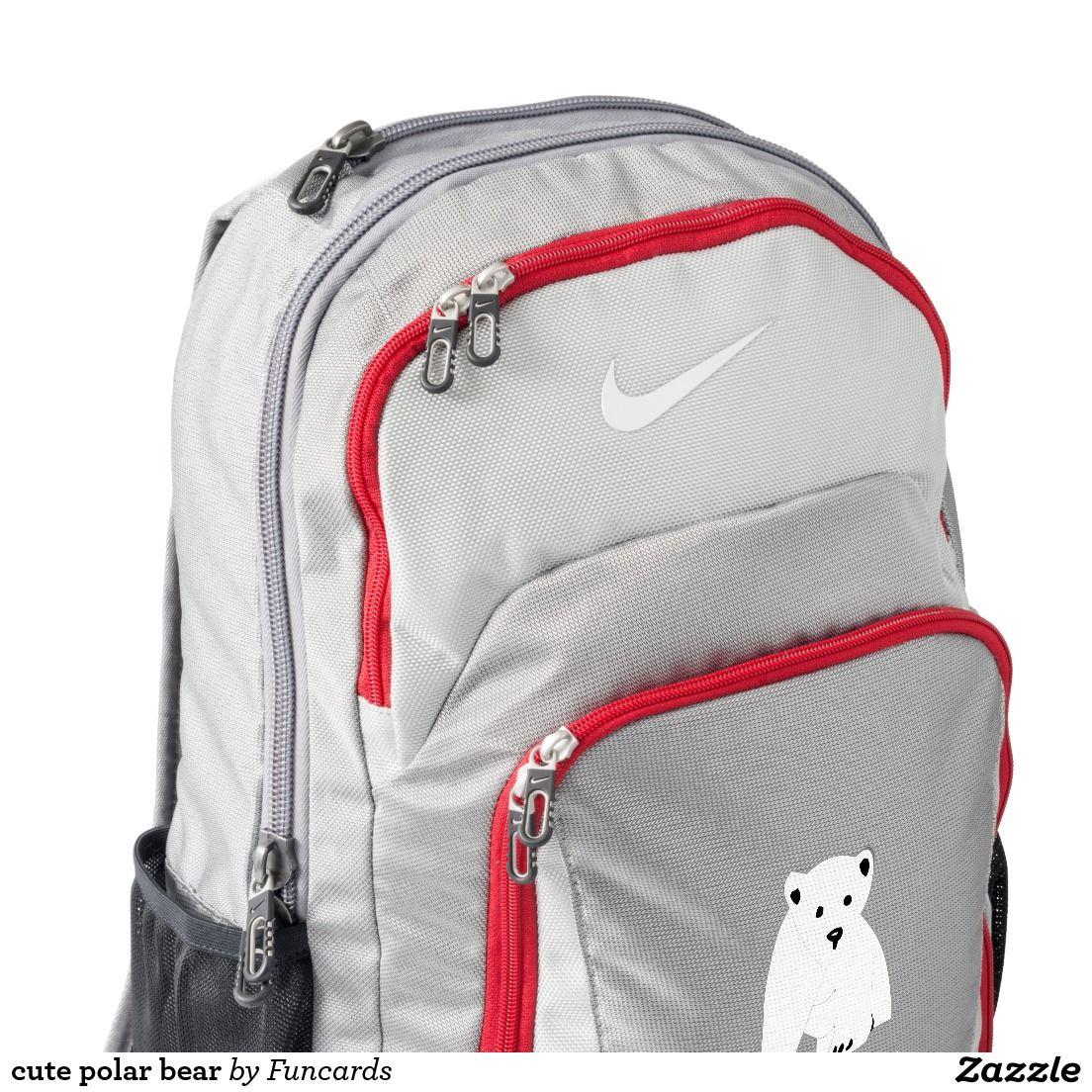Cute Polar Bear Backpack Nike Backpack Backpacks Backpacks Custom