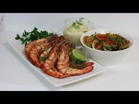 Recette d 39 une sauce cr m e au safran pour plancha ou barbecue pour accompagner gambas poissons - Accompagnement homard grille ...
