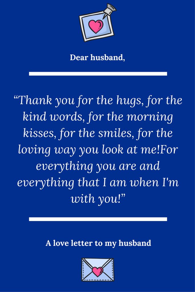 Dear Husband Thank You For Always Being There For Me Sweet Words