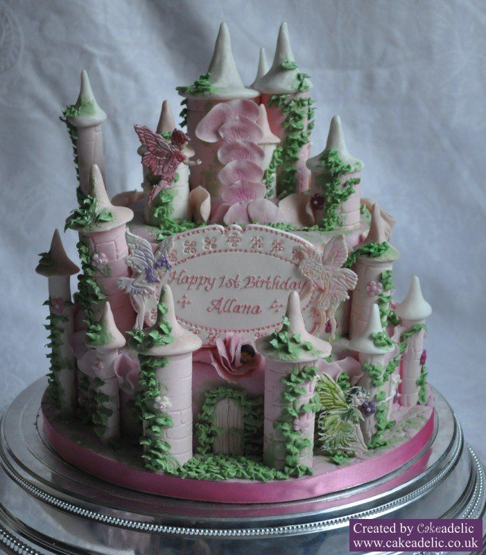 Fairy tale cake Cakes Pinterest Fairy castle cake Cake and