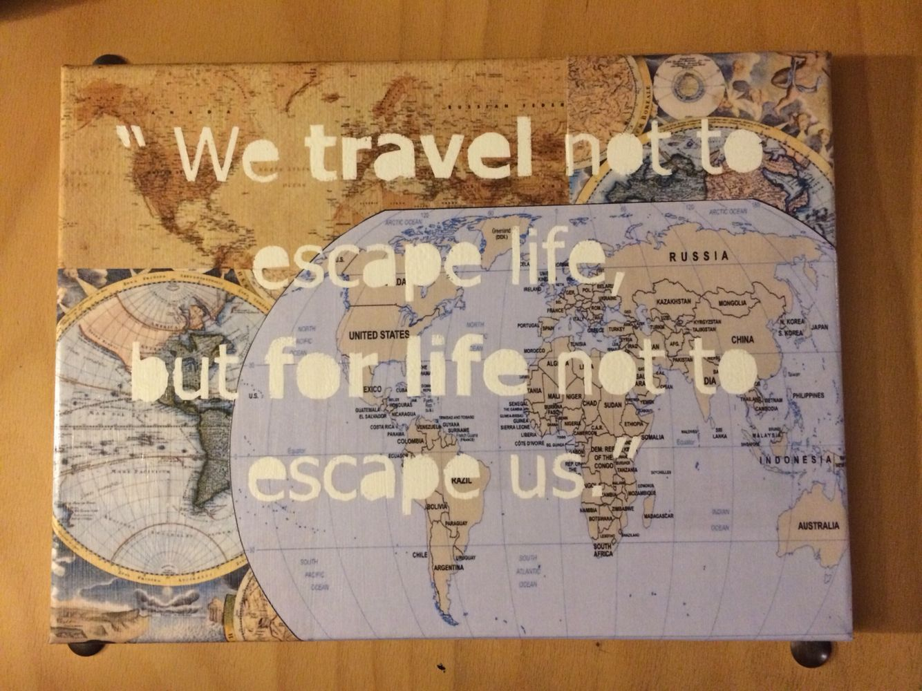 Map Of Paisley%0A  x     Just go   vintage map quote canvas by Houseof  on Etsy   Cards using  maps   Pinterest   Quote canvas  Vintage maps and Just go