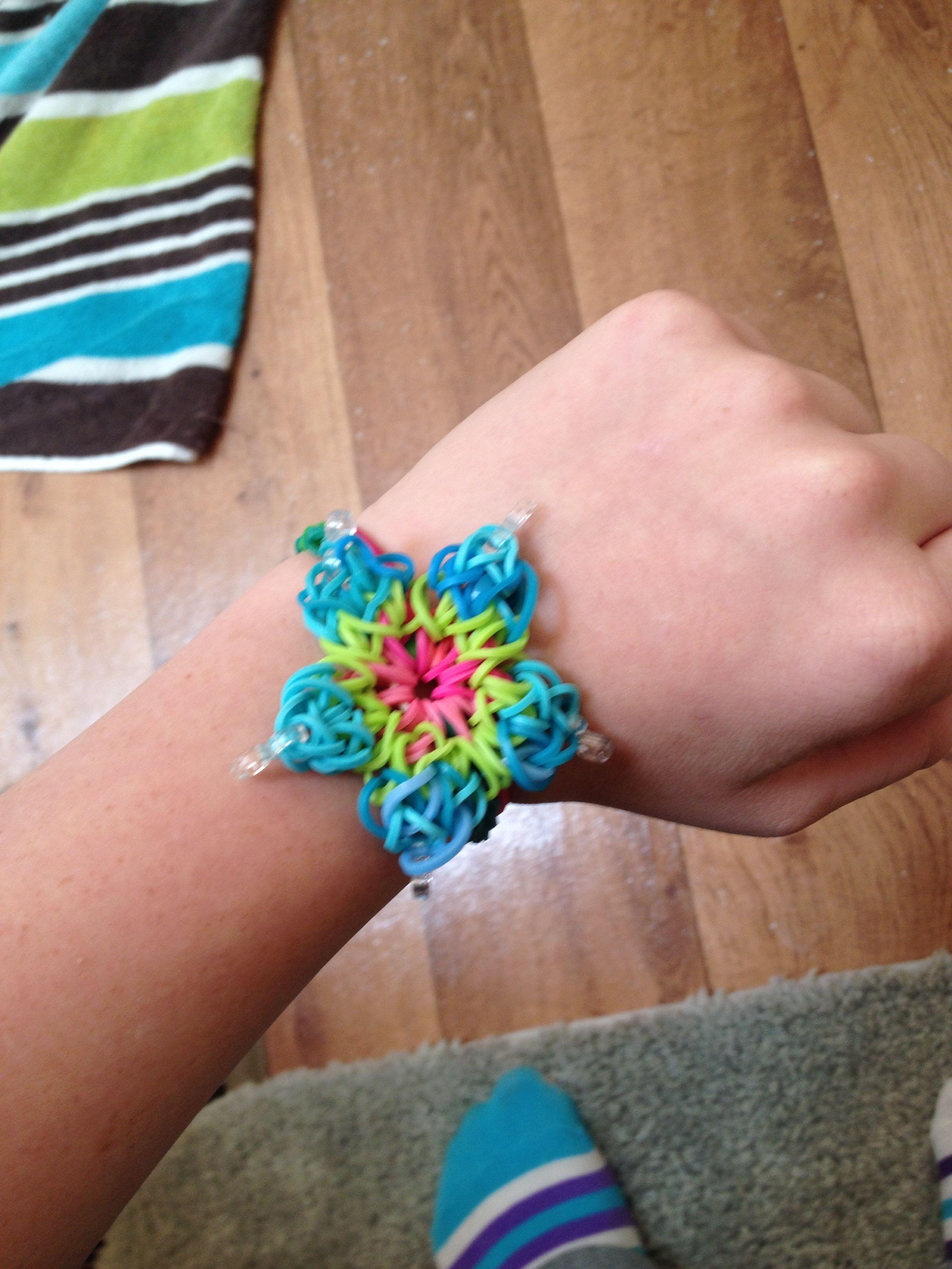 Crazy Loom Flower