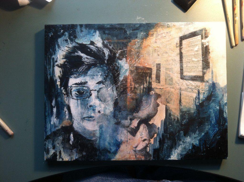 """""""A Decrease in Entropy panal 1"""" - Garrett Wilder - 2012"""