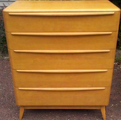 Dresser Refinished In Our Champagne Heywood Wakefield Stain. Visit Our  Learning Center At: Www