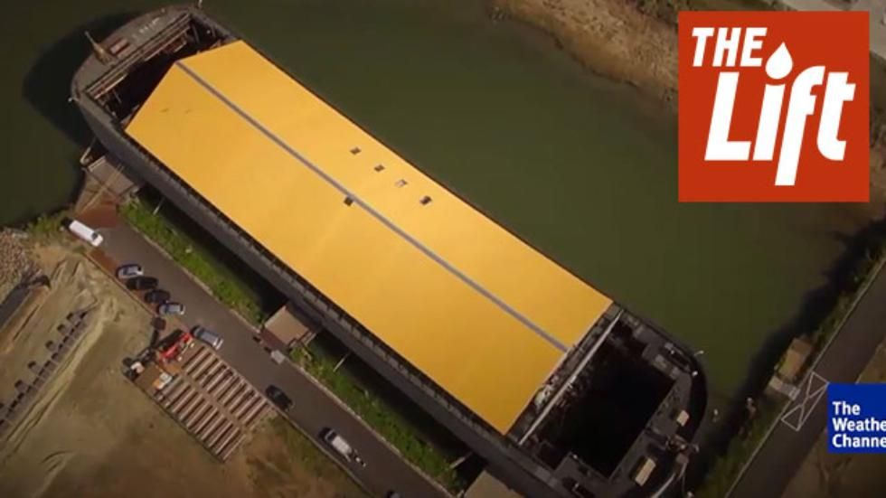 A life size replica of Noah's Ark to set sail this summer.