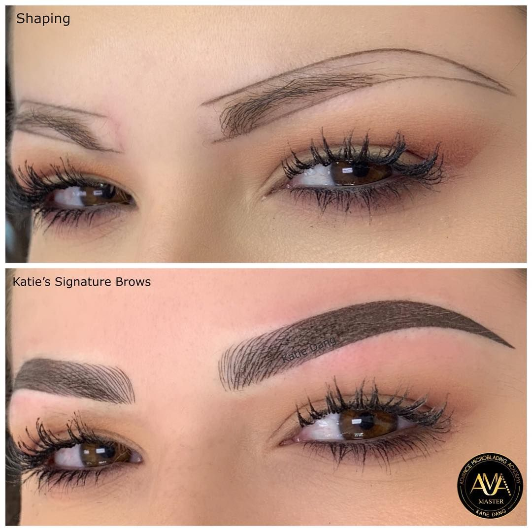 Katie's Signature Brows. For Training or Service, please