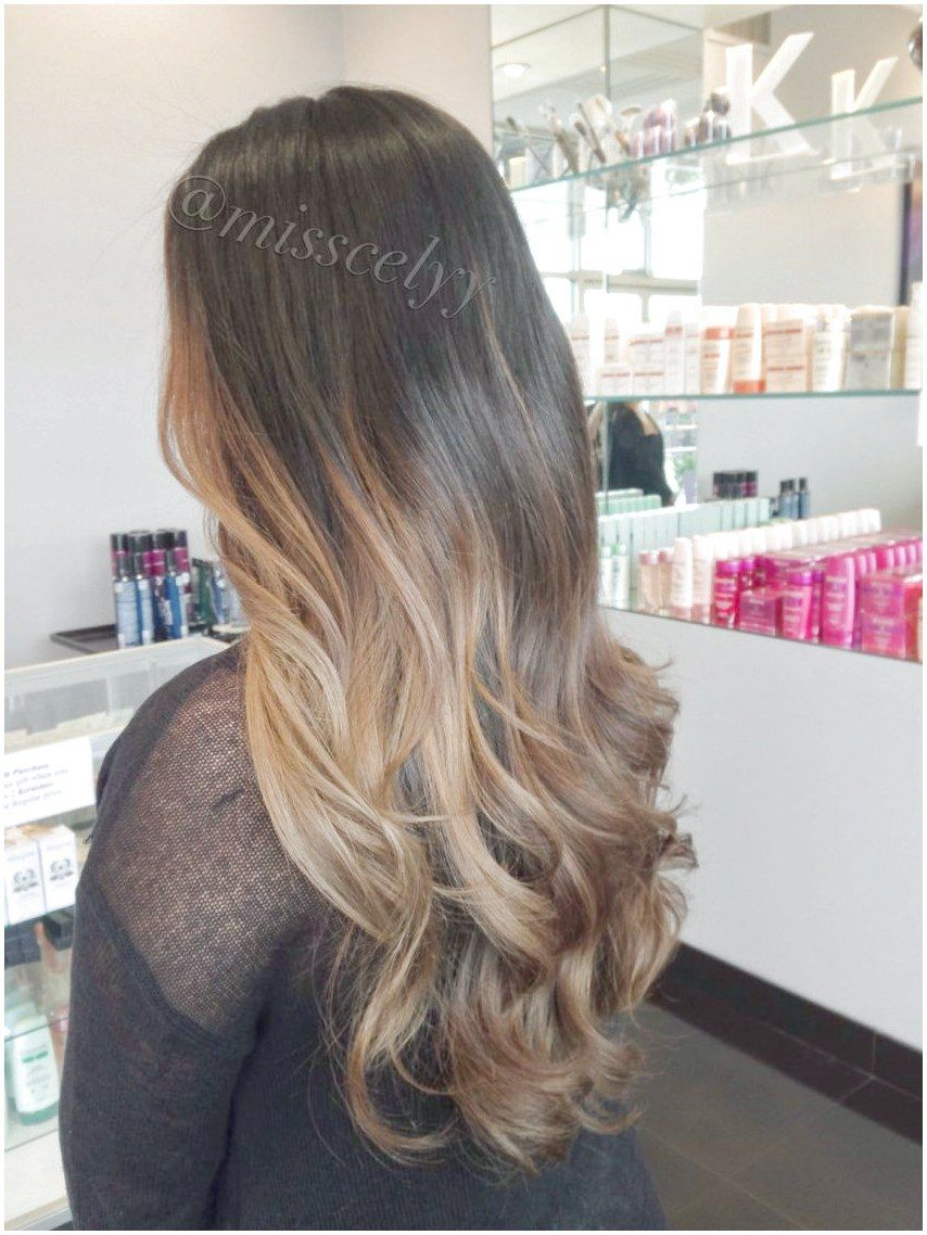 Balayage soft ombre. Sombre hair LongHairstylesForFineHair Like ...