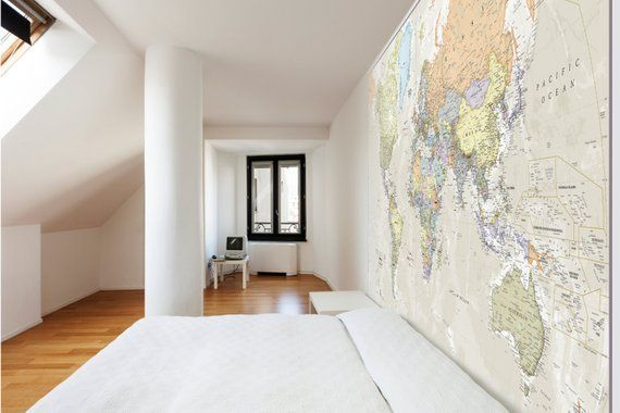 Giant World Map Mural - Classic - Home Decor, Living Room, Bedroom, World Map Wall Decal, Wall Art, vintage map, world map wallpaper #worldmapmural Giant World Map Mural Classic Home Decor Living Room #worldmapmural Giant World Map Mural - Classic - Home Decor, Living Room, Bedroom, World Map Wall Decal, Wall Art, vintage map, world map wallpaper #worldmapmural Giant World Map Mural Classic Home Decor Living Room #worldmapmural