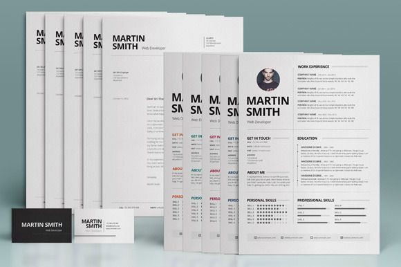 Resume, Cover Letter \ Business Card Resume cover letters - resume business cards