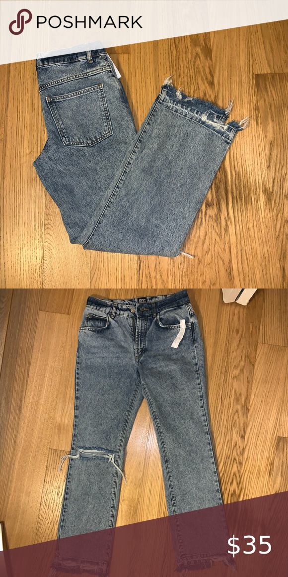 Urban Outfitters BDG Acid Wash Mom Jeans #BDG