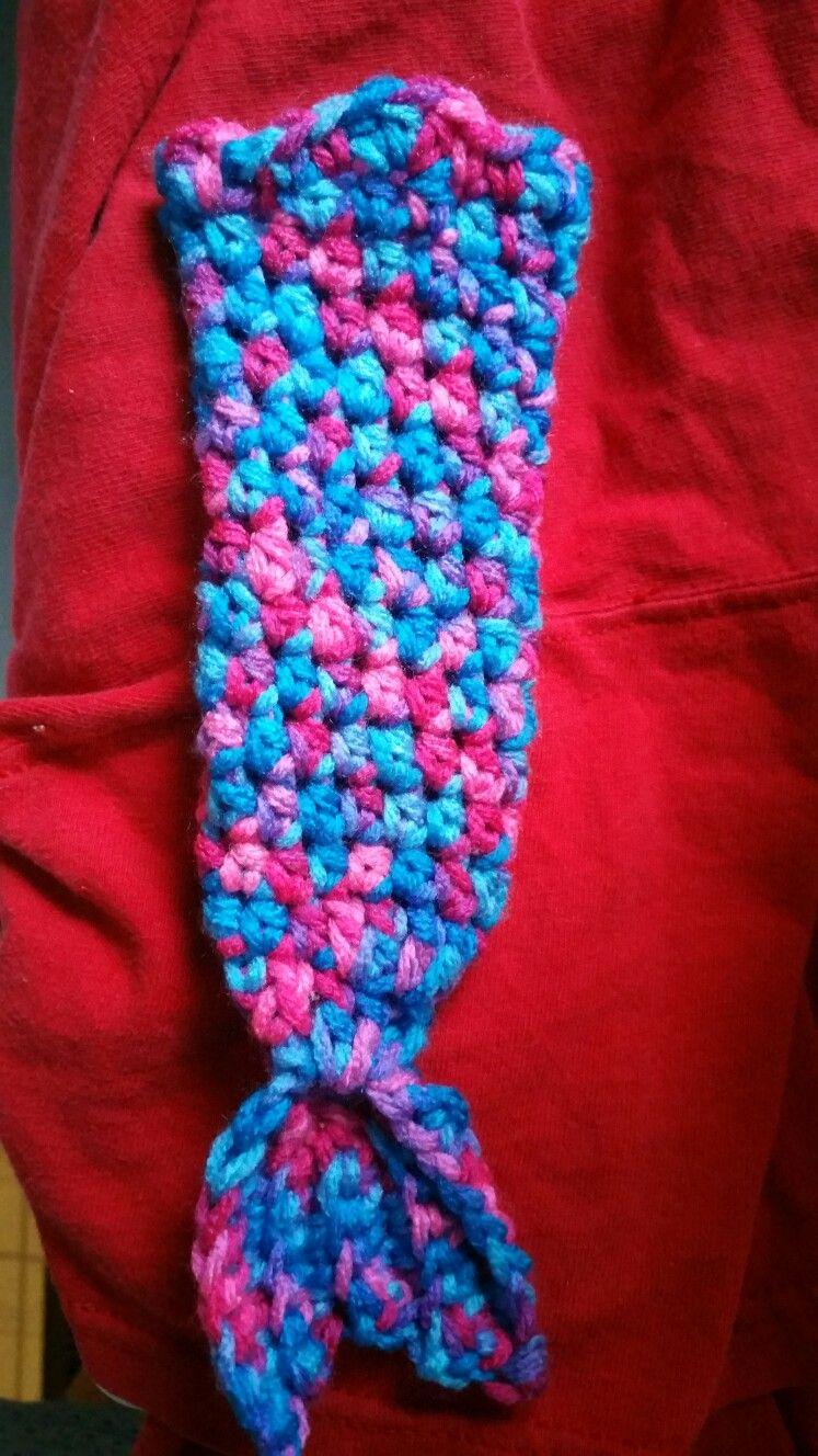 Crochet mermaid tail popsicle holder | Crochet | Pinterest
