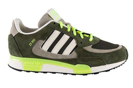 zapatillas verdes adidas hombre