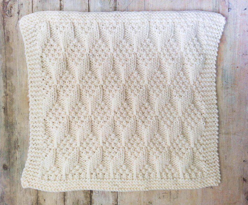 Bulky baby blocks blanket knit wit pinterest baby blocks bulky baby blocks blanket bankloansurffo Images