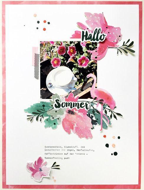 * Hallo Sommer * Scrapbook Werkstatt Aloha Kollektion