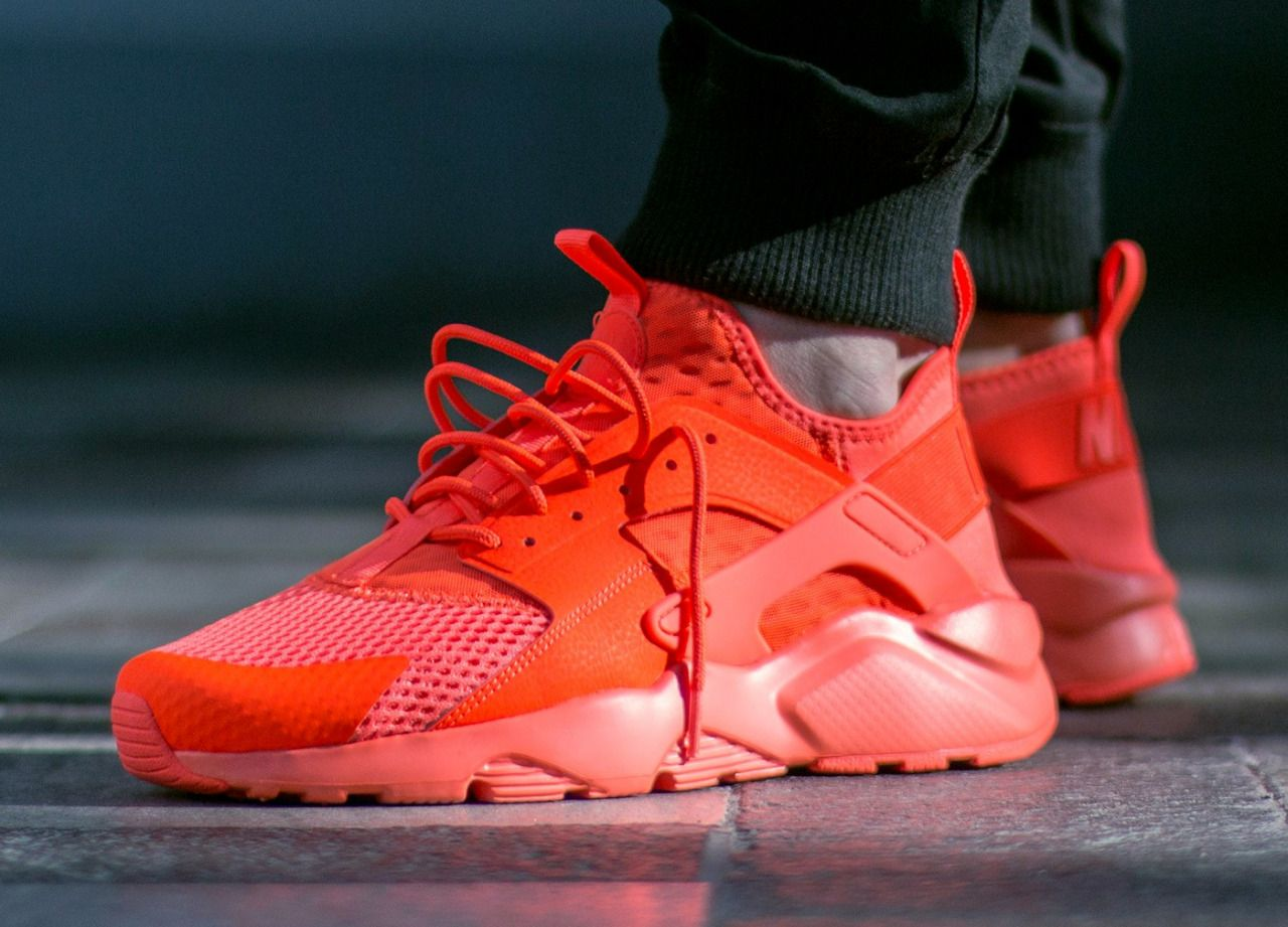 Nike air huarache run ultra br 'total crimson' | Calzas ...