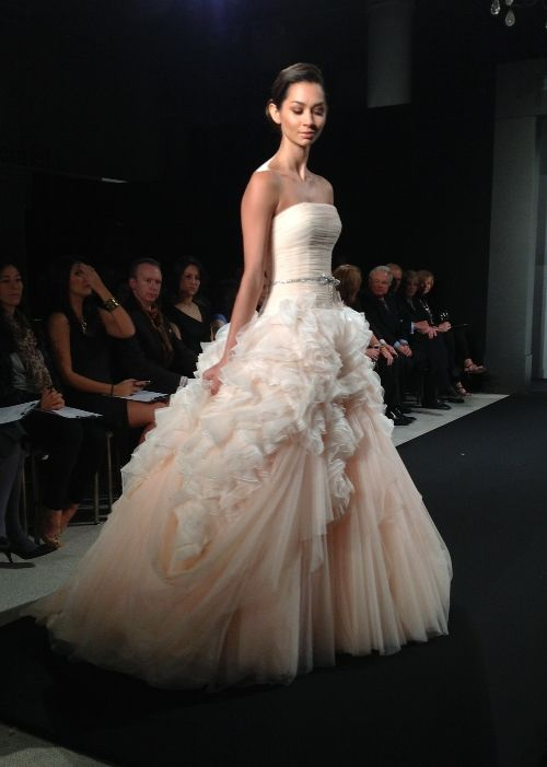 Stephen Yearick | Pinterest | Blush color, Mark zunino and Gowns