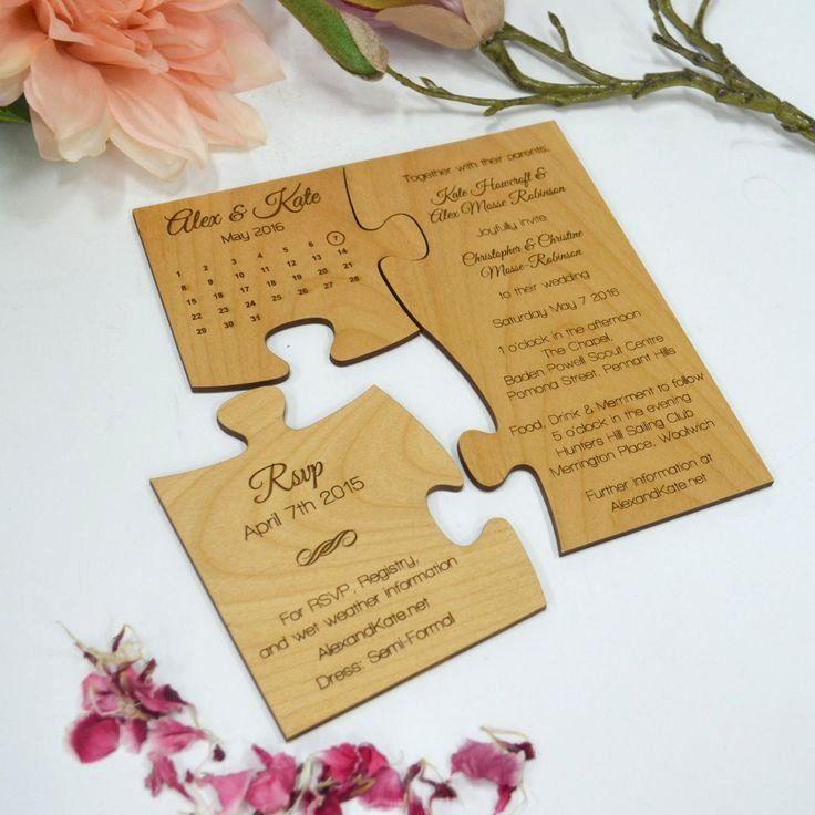 Creative Wedding Invitation Wording Best Of Best 25 Creative Wedding Invitations Ideas On In 2020 Puzzle Wedding Invitation Original Wedding Invitations Wedding Puzzle