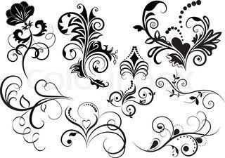Vektor af 'kreativ, retro, elegance'