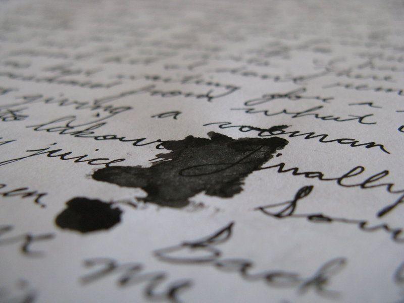 spilled ink by AlwaysConfused89 on DeviantArt | A darker shade of ...