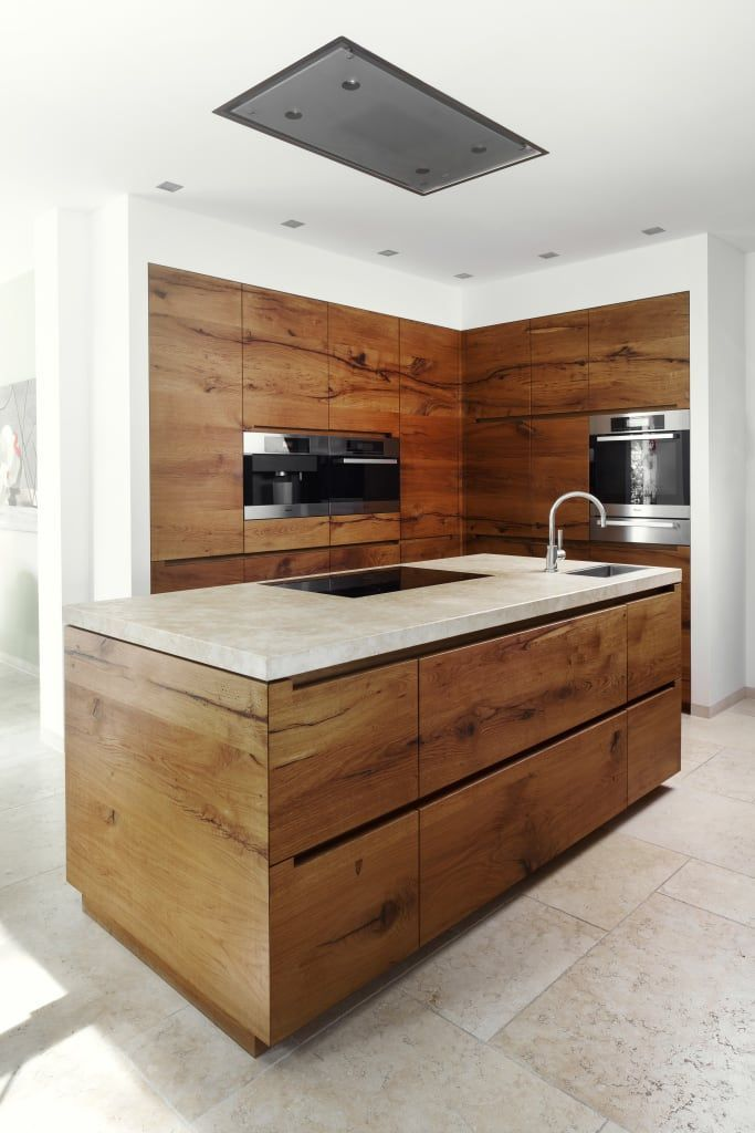 Photo of Villa h // starnberger see country house kitchen by förstl natural stone country house | homify