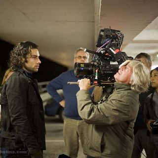 Aidan Turner ~ Being Human night shoot