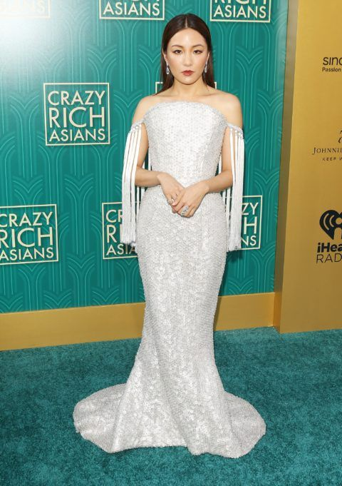 Constance Wu from 2019 Oscars Red Carpet Fashion | E