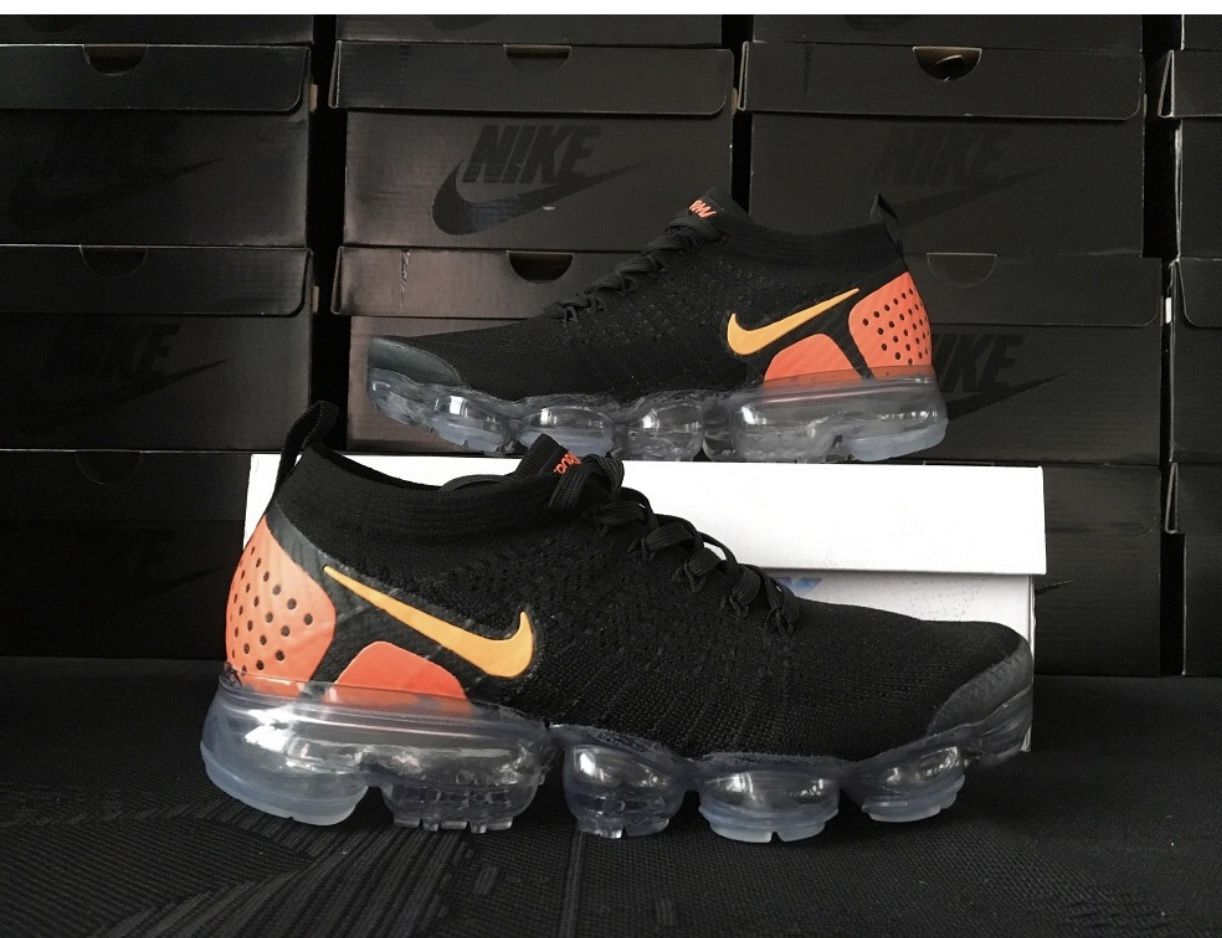 on sale f64cc 51d54 Men's Nike Air Vapormax Flyknit 2 - Men's - Black/Laser ...