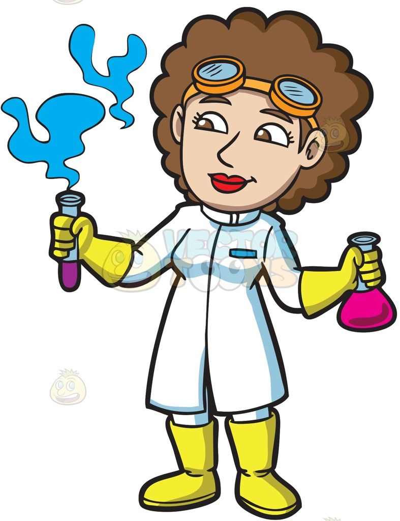 Image result for female scientist cartoon | cartoons 4 ...