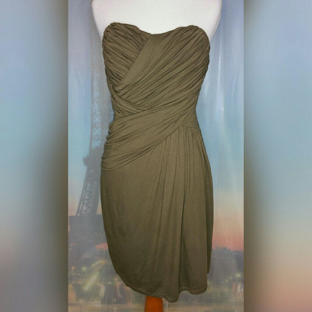 *Express* Strapless Dress