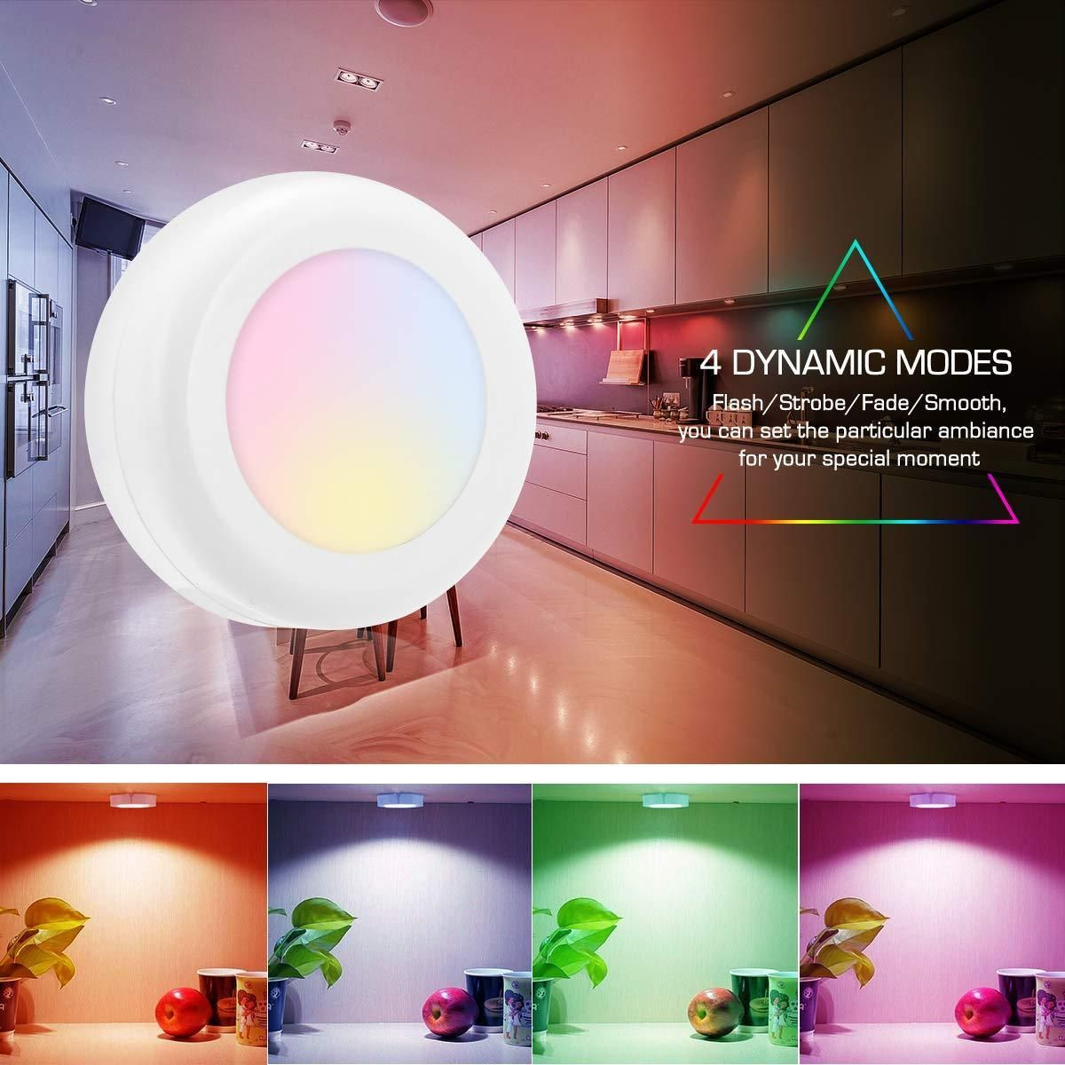 Colourchanging remotecontrolled led wirelessbuy 7 get 4