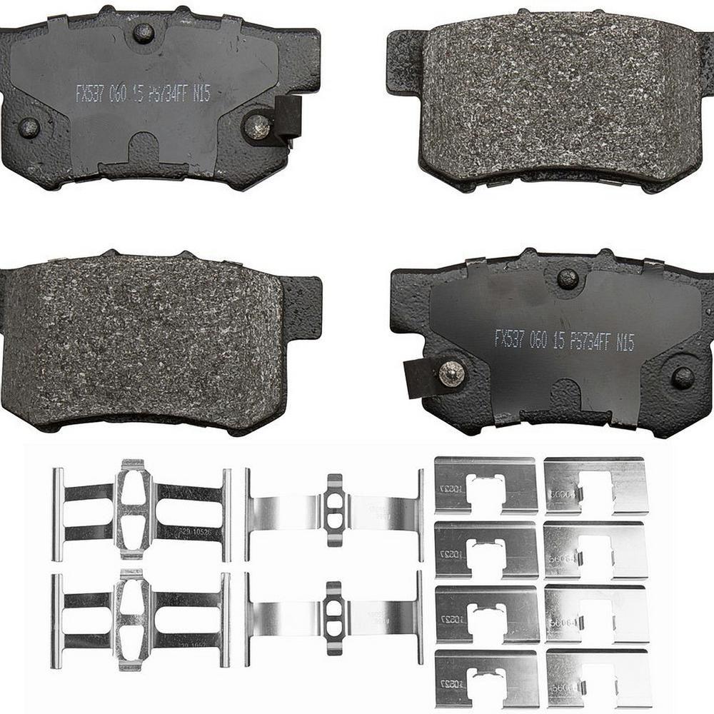 Monroe Brakes ProSolution Semi-Metallic Brake Pads In 2019