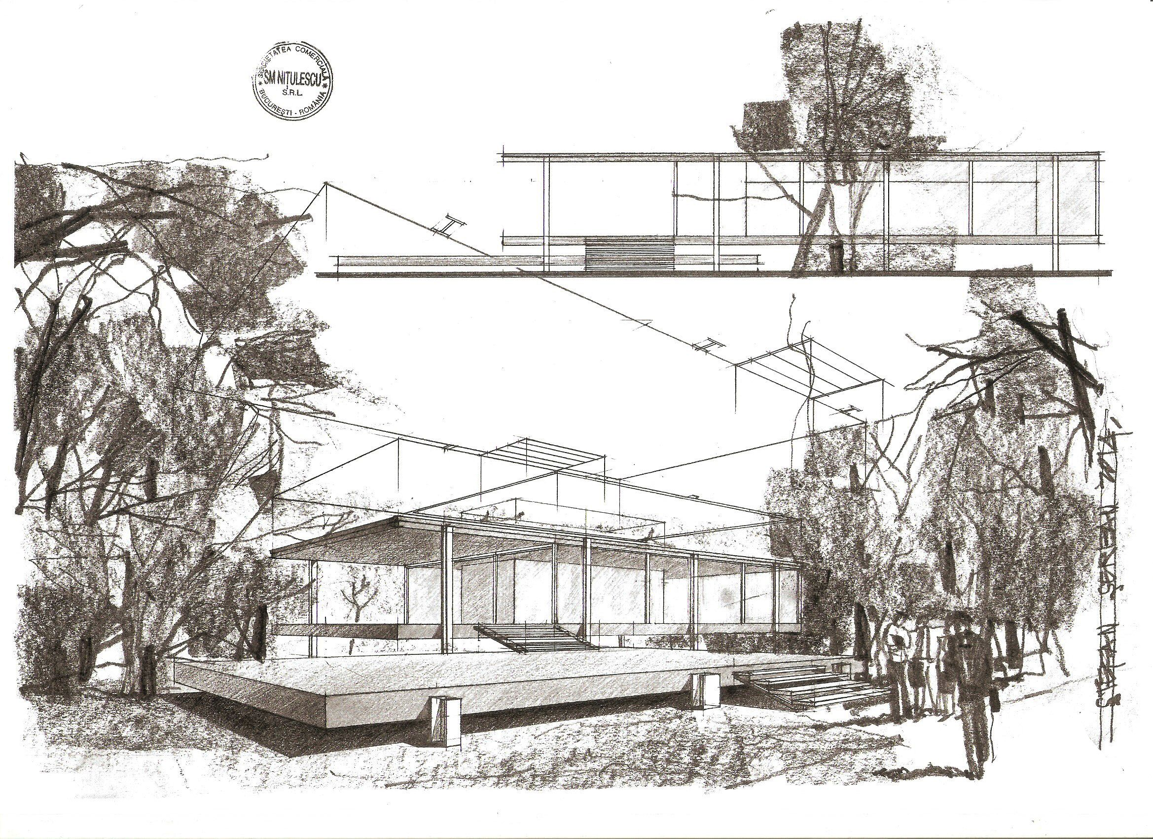 29 best farnsworth house images on Pinterest | Farnsworth house ...