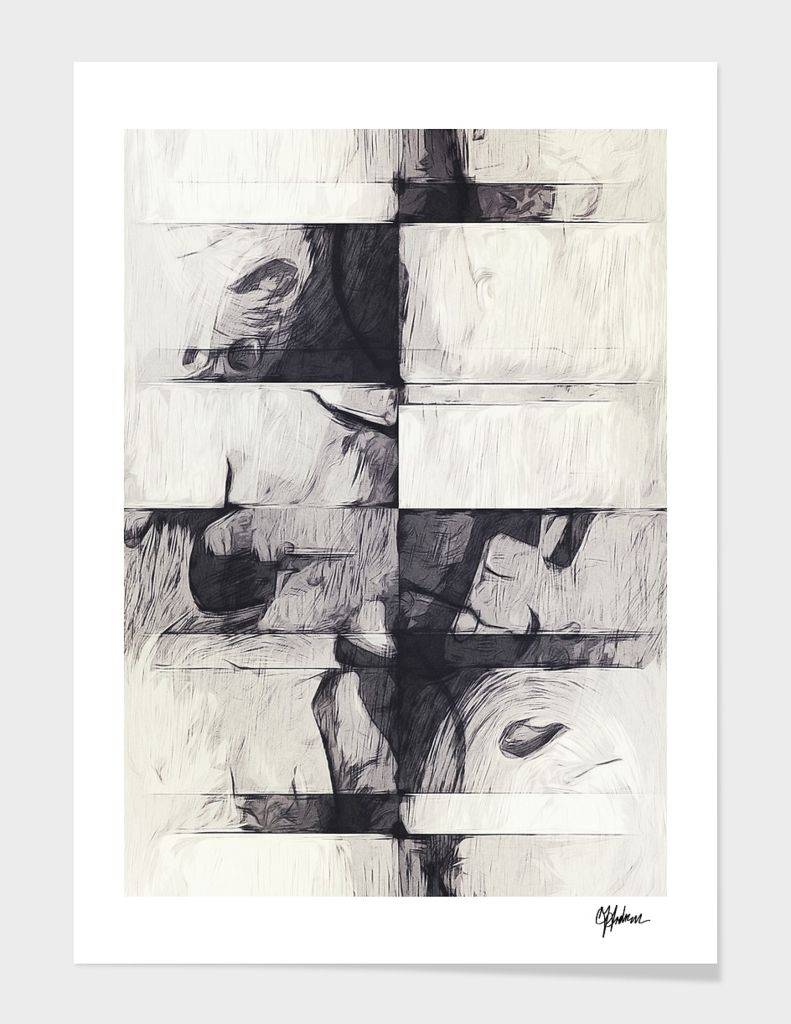 """""""Made Of Stone"""", Numbered Edition Fine Art Print by Tracie Andrews - From $25.00 - Curioos"""