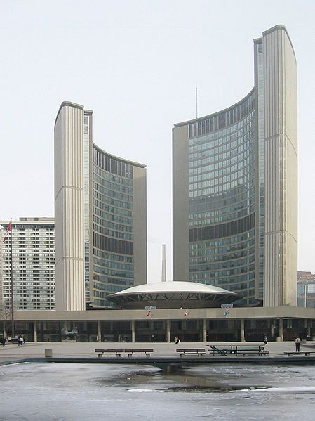City Hall Toronto Architecture Landmark Landmark Buildings Toronto City