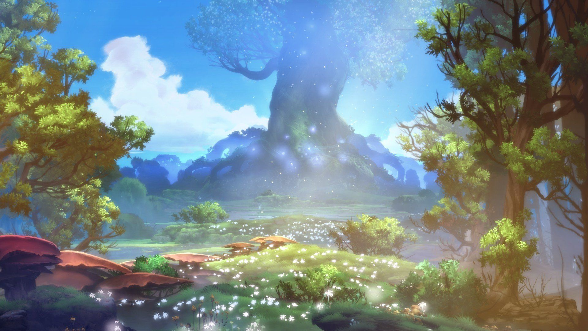 Ori And The Blind Forest Game Art Johannes Figlhuber Forest Games Environment Concept Art Art