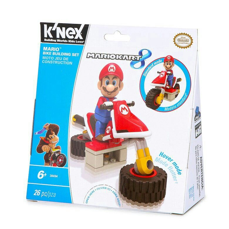 Mario Knex figure set. Sold on Hollar app for 6 (With