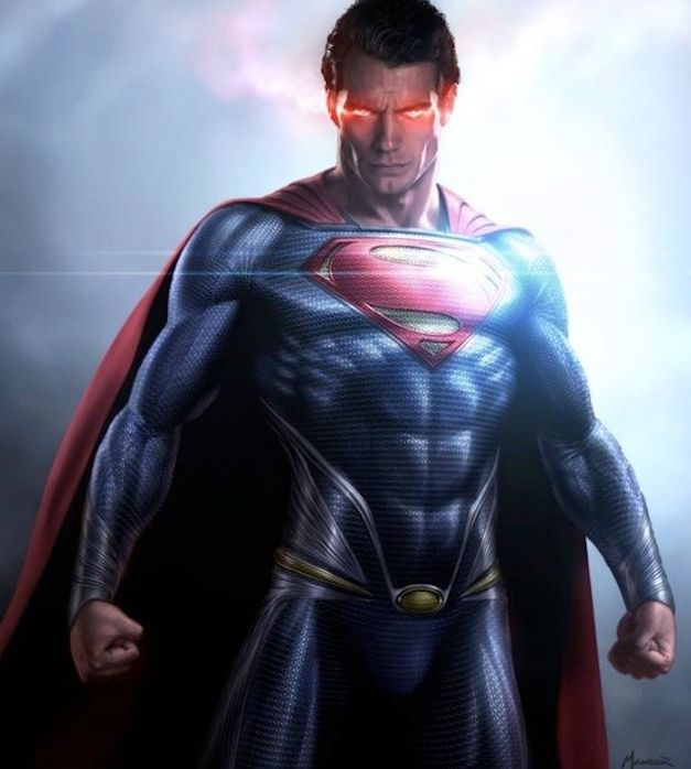 Red Eyes Man Of Steel Henry Cavill Superman Movies