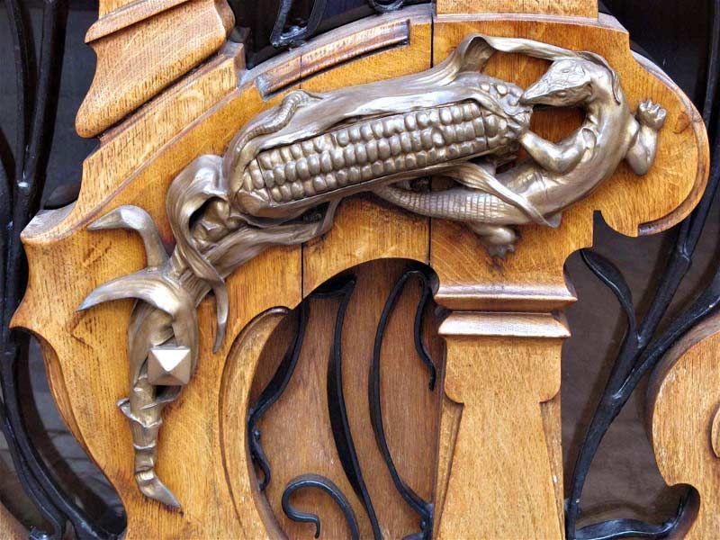 Door Pull - French 18th Cen. inspired, Art Nouveau style. | DOOR ART ...