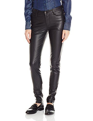 f2e042da514f Buy Junior's Faux Leather High Waisted Skinny Pant - Black - Shop the  latest collection of Women's Pants from the most popular stores.
