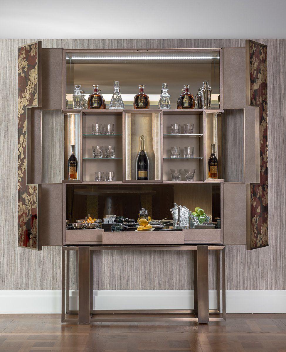 Bespoke Drinks Cabinet #furniture #Design #cabinet See