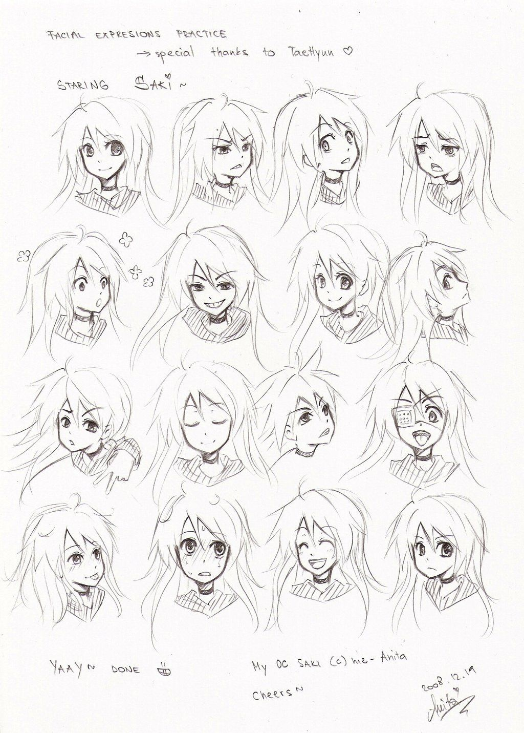 10 Cartoon Drawing Facial Expression Ideas Brighter Craft In 2020 Anime Faces Expressions Anime Expressions Drawing Expressions