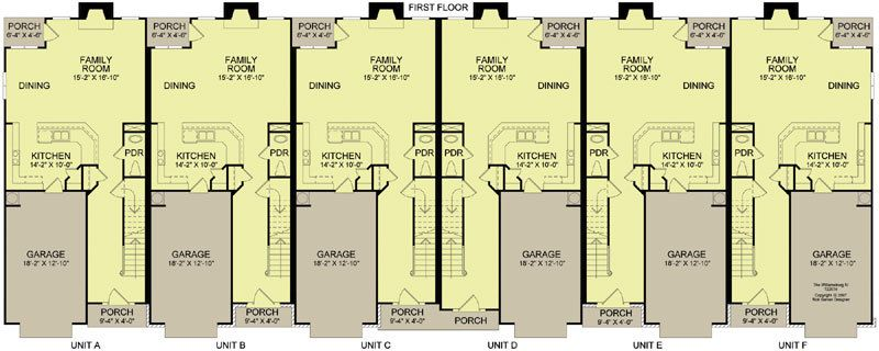 View Plans Courtyard House Plans Family House Plans Duplex House Plans