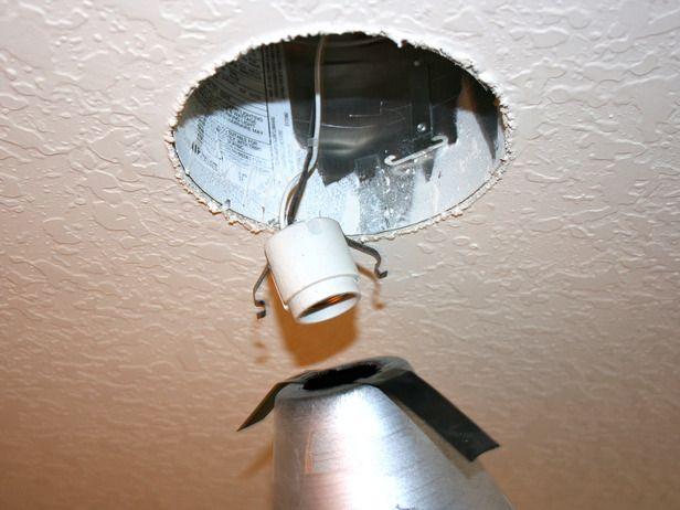 Convert A Recessed Light Into A Pendant Fixture Rooms