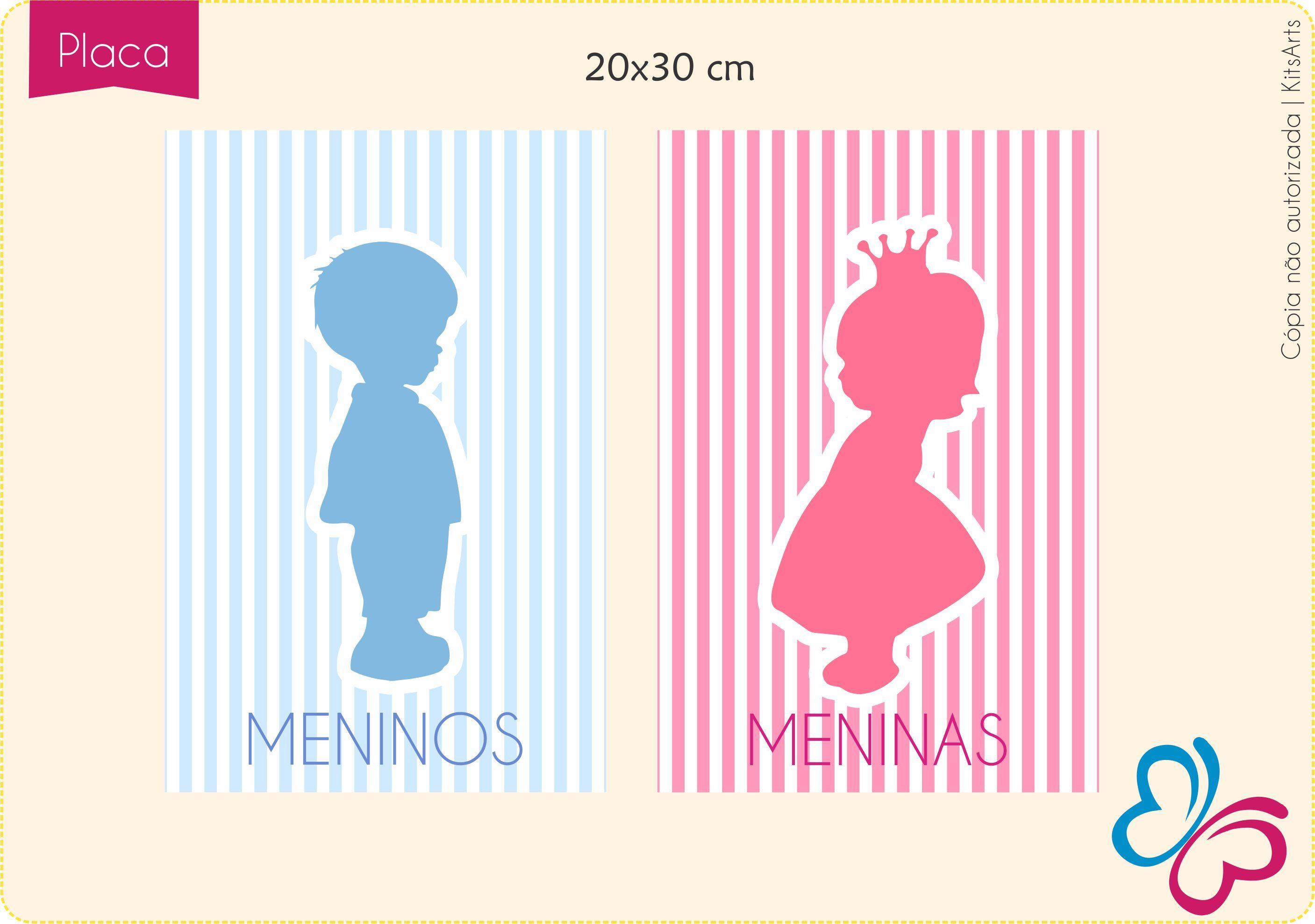 placa de banheiro infantil  Pesquisa Google  dia das crianças  Pinterest  -> Placas Banheiro Feminino Para Imprimir
